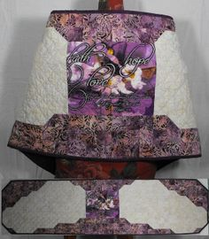 Faith Hope and Love Angel Wings Prayer Shawl by patchworkflamingo, $85.00