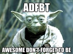 Because a Nerdfighter, Yoda is.