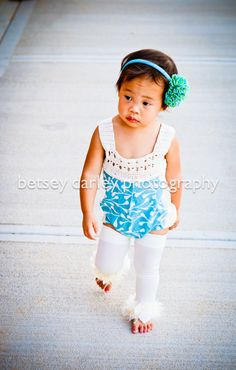 Baby Girl Clothes, Girls Romper, Baby Romper, Girls Playsuit, Baby Sunsuit