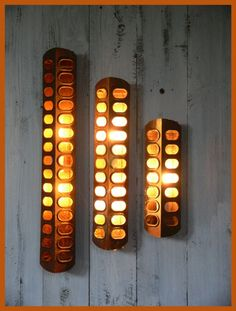 Chicken Feeder SCONCE! T...  $25 See more of his stuff!!