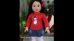American Girl Christmas 2013 - Shop Christmas Style at Harmony Club Dolls