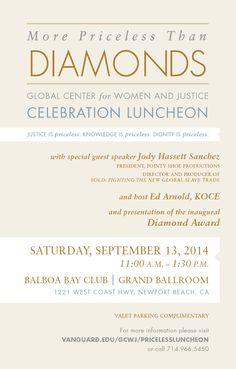 2014 More Priceless than Diamonds Luncheon