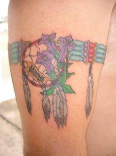pictures of Australian Aboriginal Tattooing Art