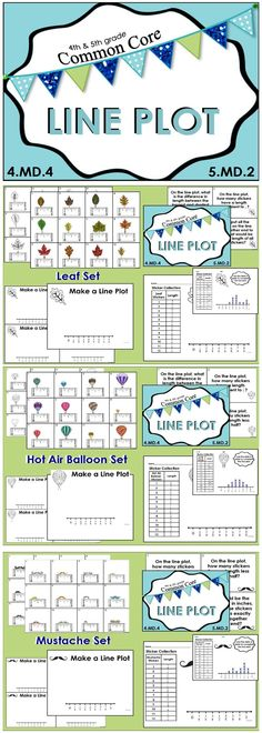 This package contains 7 common core aligned line plot measuring sets. The components of this package may be used for whole group instruction, small group instruction, math centers, and assessments. $