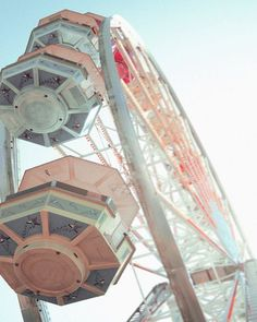 #Party   #Pastels   #Colours   #FerrisWheel   #Circus   #Fair   #Carnival   #Pink   #Soft   #Blue   #Fun   #Sky   #Ride   #White   #Pretty   #Vintage