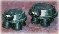 clay pot turtles