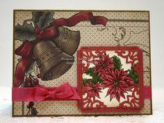 Stampin' Up! Bells & Boughs handmade Christmas card