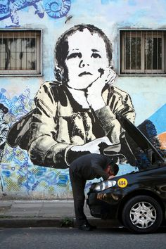 By Stencil Land, Buenos Aires #arteurbana #streetart #grafite #mural #street #arte #art