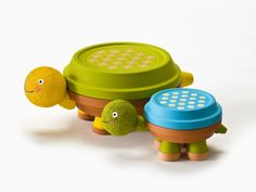 Darling Clay Pot Turtles: National Craft Month Project & Giveaway