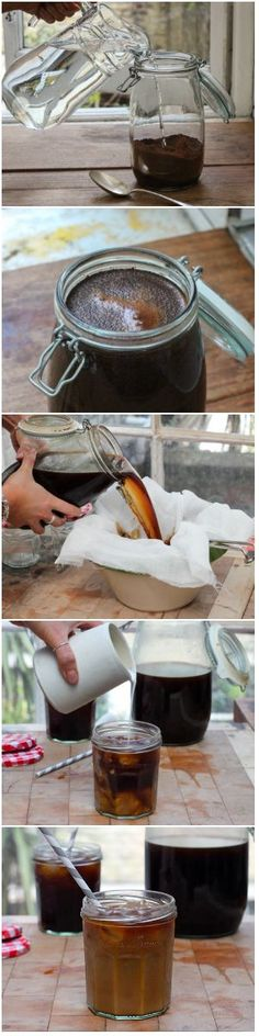 How to cold brew cof