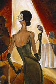 :: Trish Biddle Fine Art :: Jazz Samba :: Glamorous Women in Fabulous Places :: Eva Longoria :: Kentucky Derby :: Westminster Dog Show :: Hamptons Classic :: Del Mar