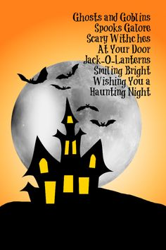 Would be cute on the chalkboard halloween poem printable working on