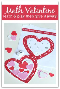 A simple game for valentine math!