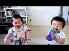 Cute Kids Laughing At Water Pistol - Jokeroo.mp4