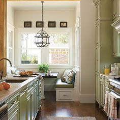 Kitchen Inspiration: Galley Kitchen < Kitchen Inspiration - Southern Living