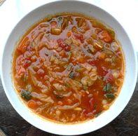 Vitamix recipes: Minestrone Soup