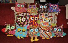 adorable stuffed owls