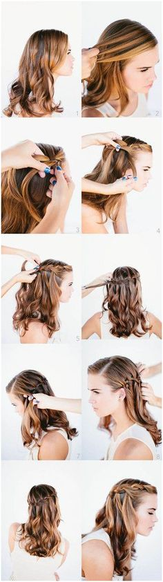 I like this hair style!!!