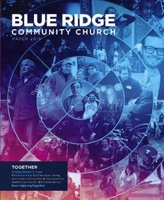 Brochure cover for Blue Ridge Community Church