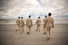 Hilton Head Beach Weddings | Palmetto Dunes - Weddings | South Carolina Wedding Receptions | Groomsmen