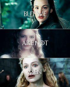 All men must die. #lotr