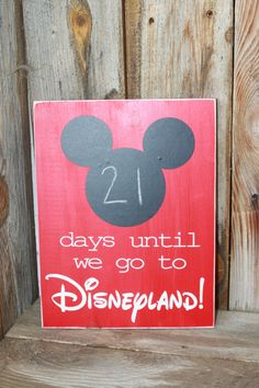 Mickey+Mouse+Countdown+to+Disneyland+Chalk+Board+Sign+by+invinyl,+$15.99