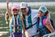 Grandpa Charlie teaches Eryn and Lauren how to catch a tasty fish with a funny name.   Xplor