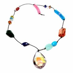 """ARENAgal by Renée Riccardo """"Faceted Jewel Necklace"""" available at the Whitney Museum Store, http://www.shopwhitney.org/rerifajene.html"""