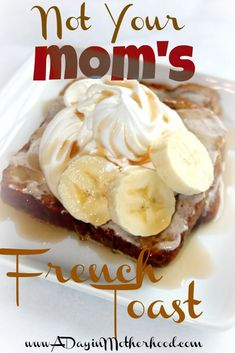 French Toast and Cinnamon Frosting