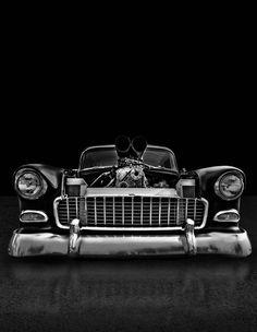 55 Chevy!