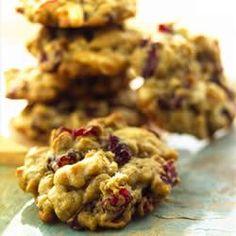 Ocean Spray(R) Oatmeal Cranberry White Chocolate Chunk Cookies Allrecipes.com