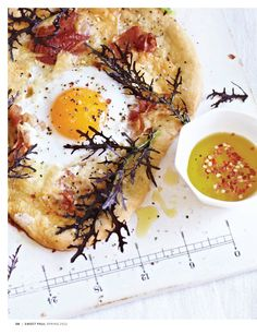 Pizza with egg |Sweet Paul Magazine