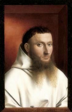 Petrus Christus - Portrait of a Carthusian (1446)