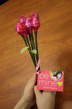 Hershey Kiss Rose Bouquet