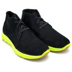 Nike Ralston Lunar Mid NSW TZ - Black / Volt