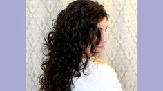 Curly Hair Routine |