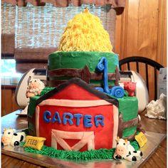Farm animals cake cake deco, animal cakes, farm anim, anim cake