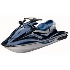Sea Doo watercraft...sure they look fancy...but too bad they are in the shop more than on the water...