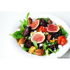 sweet potato amp tomato salad on a bed of rocket salad amp spinach ...