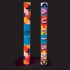 World Autism Awareness Day is April 2nd. Help shed a light on Autism research with this light up batons - OrientalTrading.com