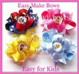 Kids Craft,Party Princess Bottle Cap Bows,how to Make Hair Bow Instruction Assembly Kit,with Ribbon,clips,supplies for Ages 7,8,9  Up. Great Birthday Gift! - #crafts #craftsupplies #craftsupplydeals #craftaccessories -     Product Description: