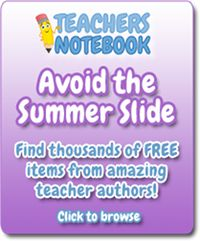 """""""Avoid the Summer Slide"""" Freebies to help parents and teachers work with boys and girls over the summer so that they will NOT forget some of what they have learned at school during the summer!"""