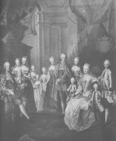 The Austrian royal family by Martin van Meytens, 1763 (Age 8)