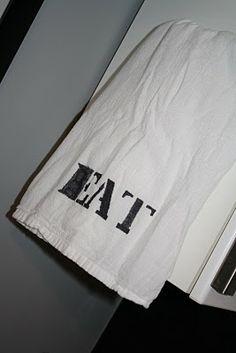 Easy DIY hand towels