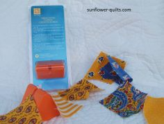 "New Quilt Notion form EZ Quilting and Sunflower QUILTS the ""Thread Cutter"" If you chain piece you have to have this!"
