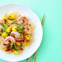 Shrimp and Mango Noodle Salad