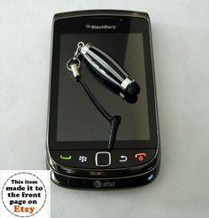 ......Zebra Look Mini Stylus for IPAD IPHONE by craftcrazy4u, $17.00.......