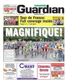 Tour de France Grand Depart - Chingford Guardian