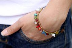Fresh Summer Mix Stone Bracelet by XtraVirgin on Etsy, $7,50