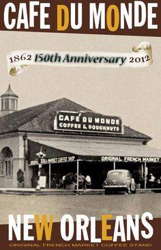 Cafe Du Monde -- never closes, ever.